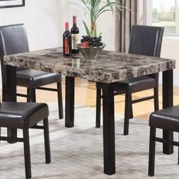 Best Master Furniture CD037 Britney Dining Table, Espresso