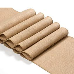 Burlap table runner 12″x108″ inches | NEW Arrival | Rust