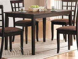 New Cardiff Design Dining Table in Expresso Finish ACS 60850