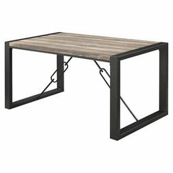 Emerald Home Carlisle Industrial Rectangular Dining Table