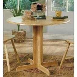 casual dining table natural