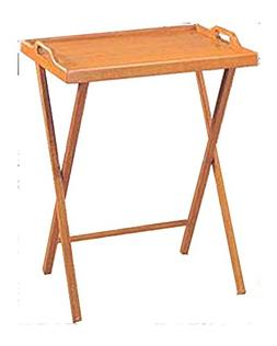 CCS 20x14.25x25-Inch Wooden Folding Table