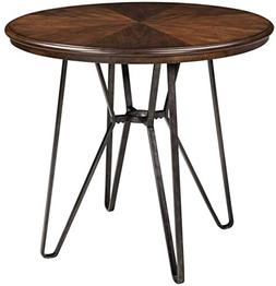 Signature Design by Ashley D372-13 Centiar Dining Table, Two