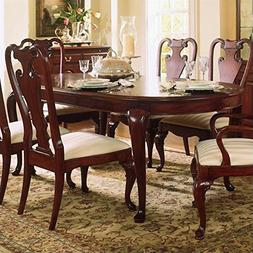 American Drew Cherry Grove Oval Leg Formal Dining Table in C