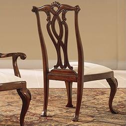 American Drew Cherry Grove Pierced Back Dining Chair in Anti