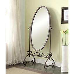 Cheval Floor Mirror in Country Style Angelica 26 x 63-inch M