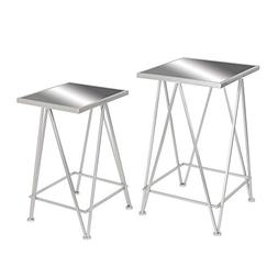 classy metal side table