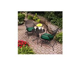 Clayton Court 3 Piece Motion Chairs & Table Outdoor Furnitur