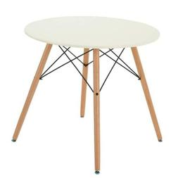 Homy Casa Coffee Tables Dining Table Side MDF White Table,..