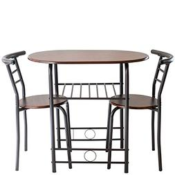 Handi-Craft 725791821077 3 Piece Compact Dining Set with Tab
