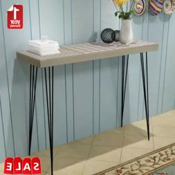 Console Table Exquisite Design for Entryway Long Shelf  35.4