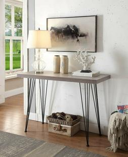 Console Table For Entryway Furniture Modern Black Vintage So