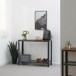 Console Table Sofa Table Metal Frame for Entryway Home Livin