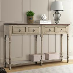 Console Table Sofa Table with Storage Console Tables for Ent