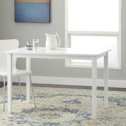 """TMS Contemporary Dining Table, 45""""L x 28""""W x 29""""H Multiple F"""