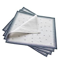 Queenie - Set of 4 Cotton Placemats for Dining Room Table 12