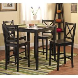 Simple Living Counter Height 5-piece Dining Set Table and Ch