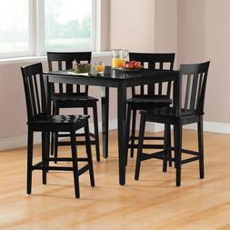 Counter Height Dining Table Set For 4 Pub Style Breakfast No