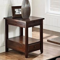 Steve Silver Company Crestline Chairside End Table