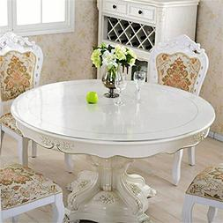 OstepDecor Custom 2mm Thick Round PVC Protector for Table/De