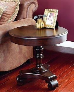 Dark Brown End Table by Ashley Furniture