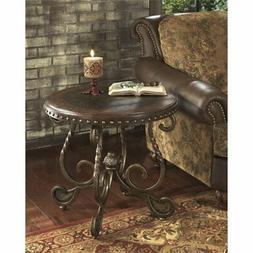 Dark Brown End Table - Signature Design by Ashley Furniture