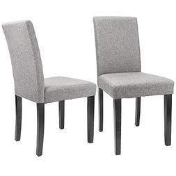 Furmax Dining Chairs Urban Style Fabric Parson Chair Side Ch