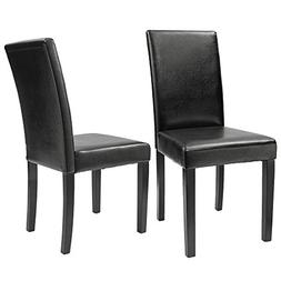 Furmax Dining Chairs Urban Style Leatherette Parson Chair Si