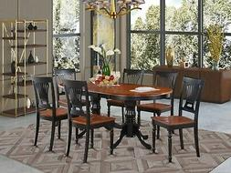 7 Piece dining room set-dining room table and 6 kitchen dini
