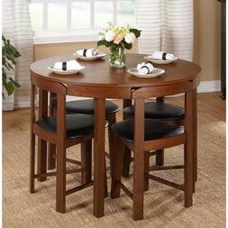 Dining Room Set Table Chairs Kitchen Round Best Furniture Co