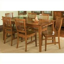 Home Styles 7PC Dining Set - Material: Hardwood - Finish: Co