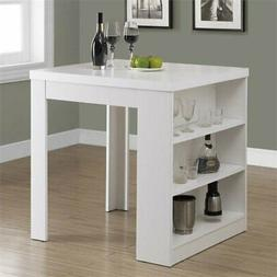 Monarch Specialties Dining Table - 32X 36 / White Counter He