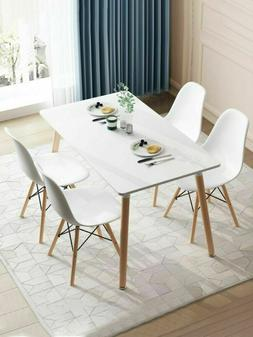 Dining Table Modern Kitchen Dining Room Desk Set Coffee Tabl