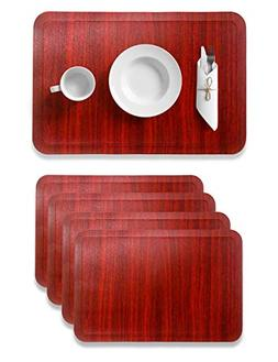 Alpiriral Dining Table Place Mats Set of 4 Heat Resistant Pl