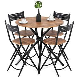 Homury 5pcs Dining Table Set Kitchen Table Kitchen Furniture