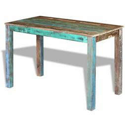 dining table solid reclaimed wood 45 3