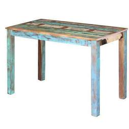vidaXL Dining Table Solid Reclaimed Wood Dining Room Kitchen