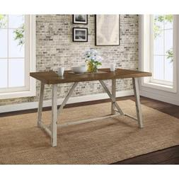 Dining Table for Small Spaces Set for Four Rustic Distressed