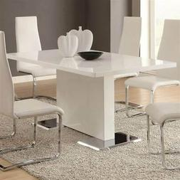 Dining Table with Chrome Base