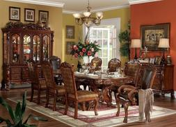 Dresden Traditional 7 Piece Formal Dining Room Set Carved Do