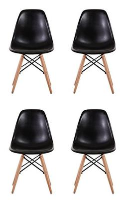 Creation Yusheng Eames Style Dining Chair with Natural Eiffe