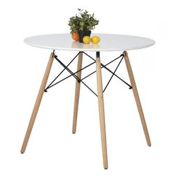 Eames Kitchen Dining Table Vogue Carpenter Round Coffee Whit