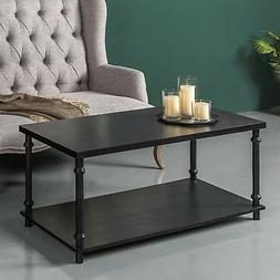 Zinus Easy Assemble Two-Tier Coffee Table