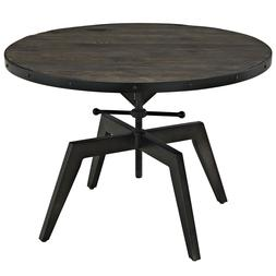 EEI-1209-BLK Grasp Wood Top Coffee Table