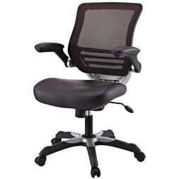 EEI-595-BRN Edge Vinyl Office Chair