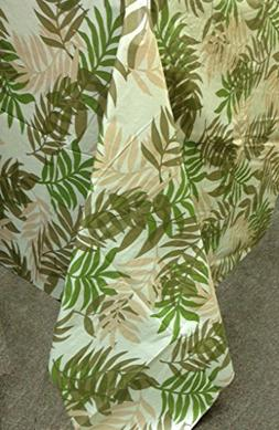 "Elegant Fern Vinyl Tablecloth, 60"" ROUND"