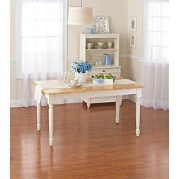 Better Homes and Gardens Autumn Lane Farmhouse Dining Table,