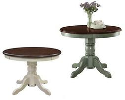 Farmhouse Dining Room Table, Rustic, Modern, Round, Kitchen