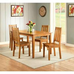 Farmhouse Dining Room Table Set Wooden Kitchen Tables And Ch