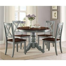farmhouse dining table set rustic round dining